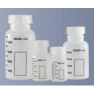 Банка 50 мл, полипропиленовая, для реактивов, с делениями, черная градуировка, арт 11001531