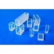 Кювета кварцевая (стекло кварцевое КВ) для фотоколориметров, флюориметров и спектрофотометров, L оптич. пути 1 мм